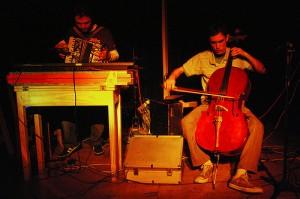 O duo em Buenos Aires, no VeraVera Teatro