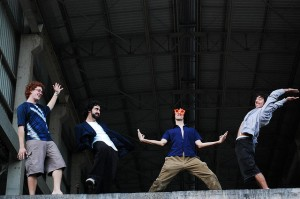 A banda Visitantes, que toca no domingo no projeto Palco Alternativo Apresenta