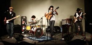 Show da banda Visitantes, convidada do projeto Palco Alternativo Apresenta...