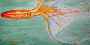 """Capa do CD """"Calamares"""""""