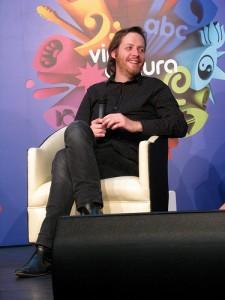 O francês Hervé Bourhis em evento em São Paulo