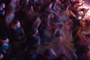 Bate-cabeça durante o show do Wreck Kings. Foto: Natasha Ramos