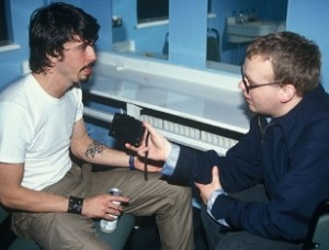 Dave Grohl em entrevista com Paul Branning, em 1997