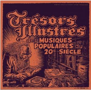 Capa de álbum compilação de músicas francesas
