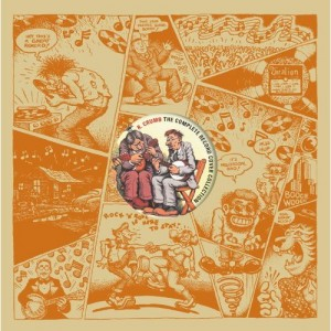 "Capa do livro ""R. Crumb: The Complete Record Cover Collection"""