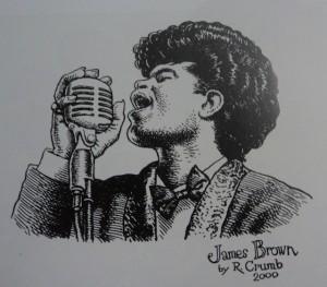 James Brown, por Crumb