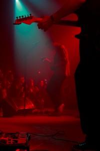 O vocalista e guitarrista Johan Duncanson e o ora guitarrista, ora baixista, Martin Larsson.