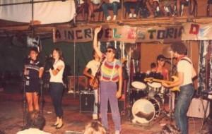 Blitz, com Lobão ainda na bateria – apresentação no Circo Voador, 1982 (Arquivo)