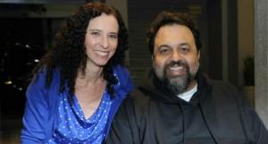 Daniela Broitman e Marcelo Yuka