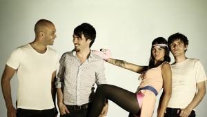 A banda colombiana Bomba Estereo