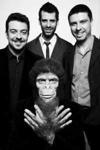 Chimpanzé Clube Trio