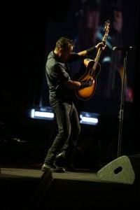 Bruce Springsteen no show em São Paulo (Foto: Site Oficial BS)