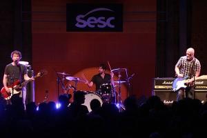 Show de Bob Mould no Sesc Pompéia. Foto: Marcela Lima