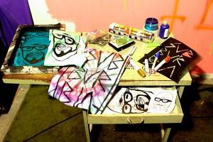 Produções artesanais de camisetas e fitas cassete do selo Terry Crew