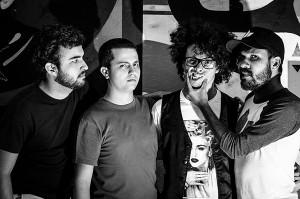 Banda Stranger Danger. Foto: Thiago Sotnas