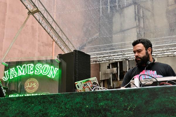 Dago Donato discoteca na The Jam.