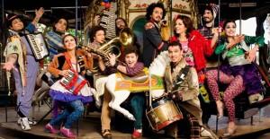 A banda argentina Babel Orkesta, que irã se apresentar no Palco Casper Libero, na Virada Cultural Paulista 2015.