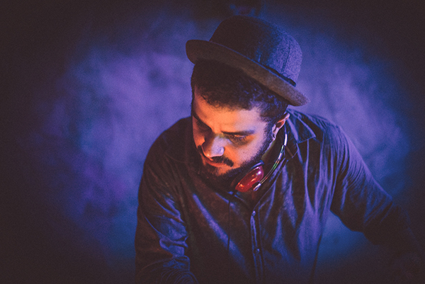 Ivan, DJ da festa Rvssia, que estreia no Espaço Desmanche
