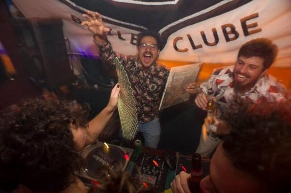 Filipe Augusto e Fábio Bardella na discotecagem da Sagarana #9