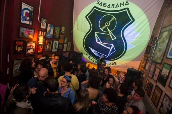 Sagarana #9, no bar Dusie, na Barra Funda