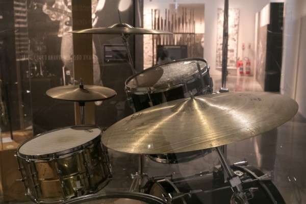 Bateria de Dave Grohl nos tempos de Nirvana (Divulgação)