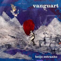 """Capa do disco """"Beijo Estranho"""""""