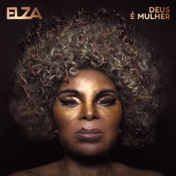 """Capa do disco """"Deus é Mulher"""", 2018, gravadora Deck"""